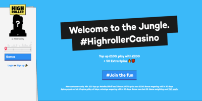 ▷ Play Now at High Roller Casino