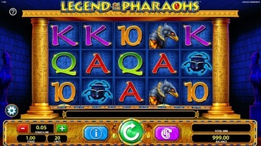 Legend of the Pharaohs Slot