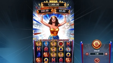 Wonder Woman Bullets and Bracelets Slot