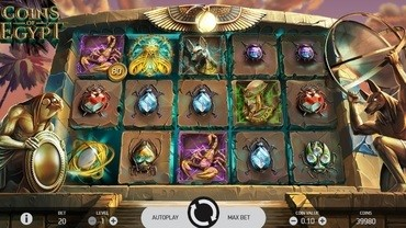 coin of egypt slots