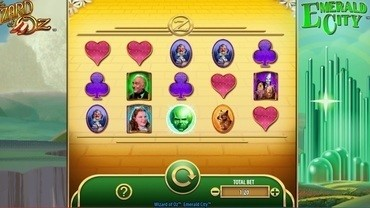 The Wizard of Oz Emerald City Slot