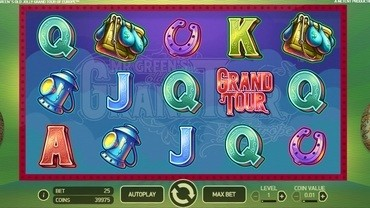 Mr Green's Old Jolly Grand Tour of Europe Slot