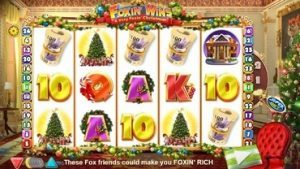 Foxin Wins A Very Foxin Christmas Slot
