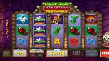ghost train slot