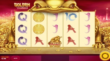 golden toade slot