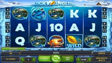lucky angler slot machine