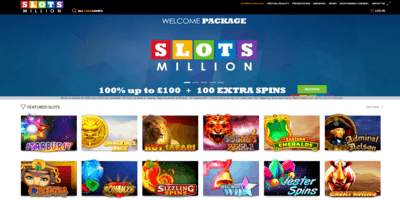 ▷ Play at Slots Million Online Casino Now!