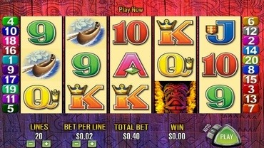 tiki torch slot