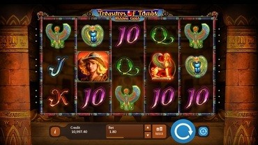 treasures of the tomb slot