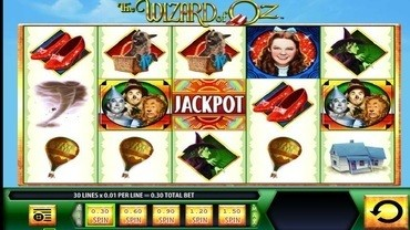 wiz of oz slots