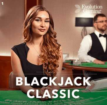 blackjack classic evolution gaming