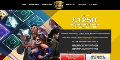 ▷ Play at Action Online Casino
