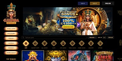 ▷ Play at Cleopatra Online Casino