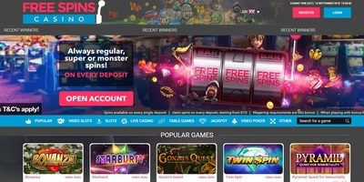 ▷ Play at Free Spins Online Casino