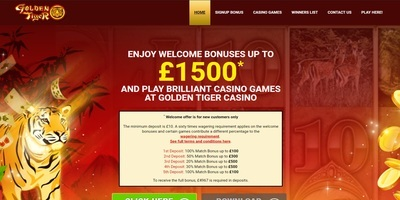 ▷ Play at Golden Tiger Online Casino