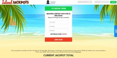 ▷ Play at Island Jackpots Online Casino