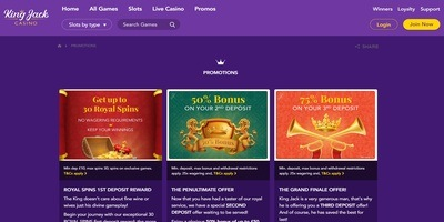 ▷ Play at King Jack Online Casino