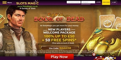 ▷ Play at Slots Magic Online Casino