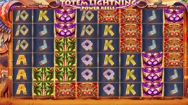 totem lightining power reels slot