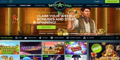 ▷ Play at WixStars Online Casino