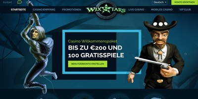 ▷ WixStars Online Casino Germany