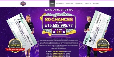 ▷ Play at Zodiac Online Casino