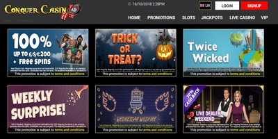 ▷ Play at Conquer Online Casino