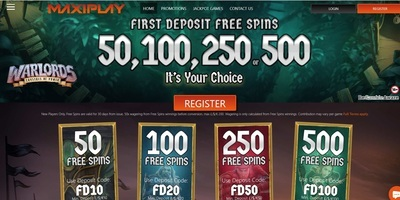 ▷ Play at MaxiPlay Online Casino
