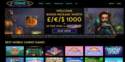 ▷ Play at Vegas Mobile Online Casino