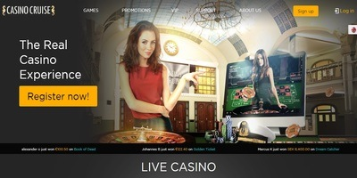 ▷ Casino Cruise Live Dealers