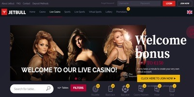 ▷ Jetbull Online Casino Live Dealers