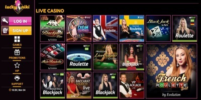 ▷ Lucki Niki Online Casino Live Dealers