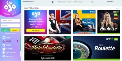 PlayOJO Casino Live Dealers