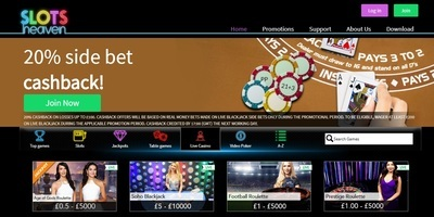 ▷ Slots Heaven Online Casino Live Dealers