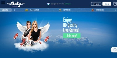 ▷ Sloty Online Casino Live Dealers