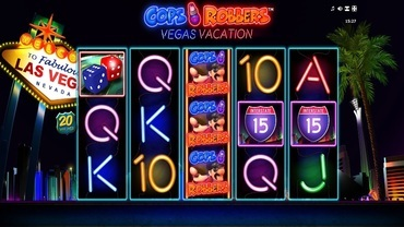 cops n robbers vacation slot