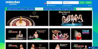 ▷ Monster Online Casino Live Dealers