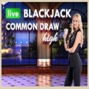 Blackjack Common Draw High Roller