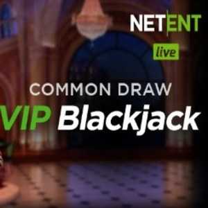 Common Draw VIP Blackjack - Netent
