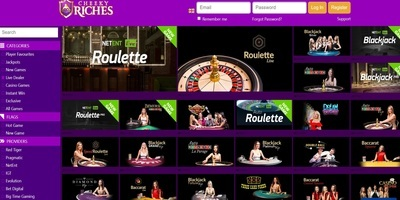 ▷ Cheeky Riches Online Casino Live Dealers