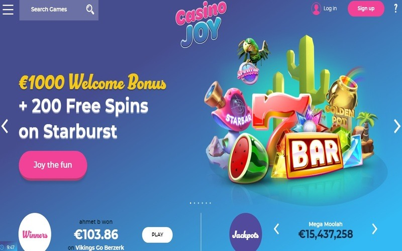 ▷ Play at Casino Joy Online Casino
