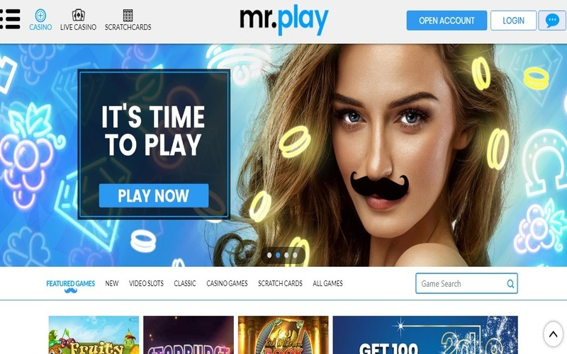 ▷ Play at Mr. Play Online Casino