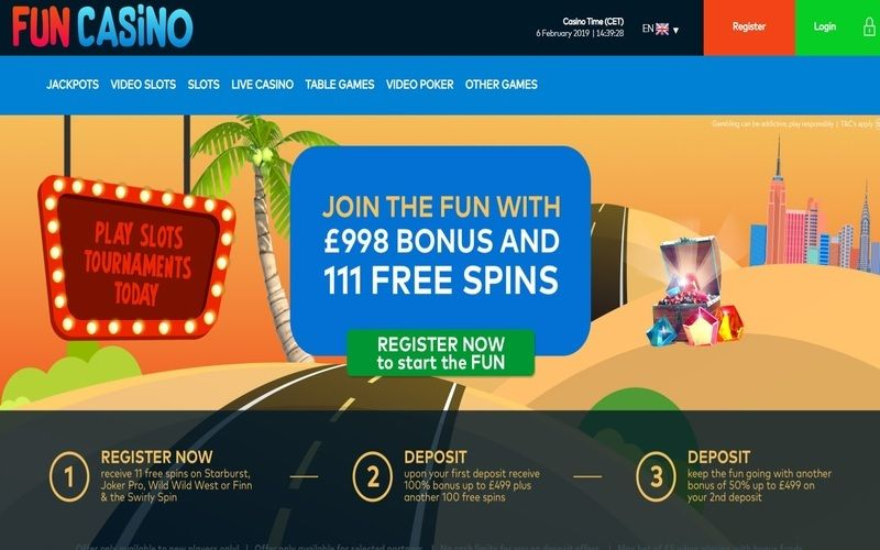 ▷ Play at Fun Online Casino