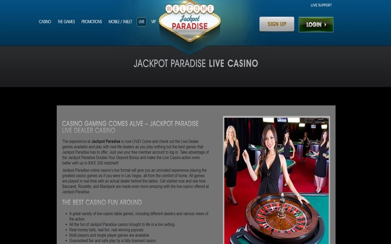 ▷ Play at Jackpot Paradise Mobile Online Casino