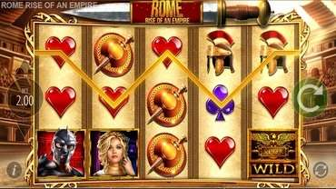 Rome Rise of an Empire Slot