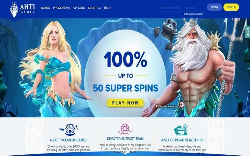 ▷ Play Now at Ahti Online Casino!