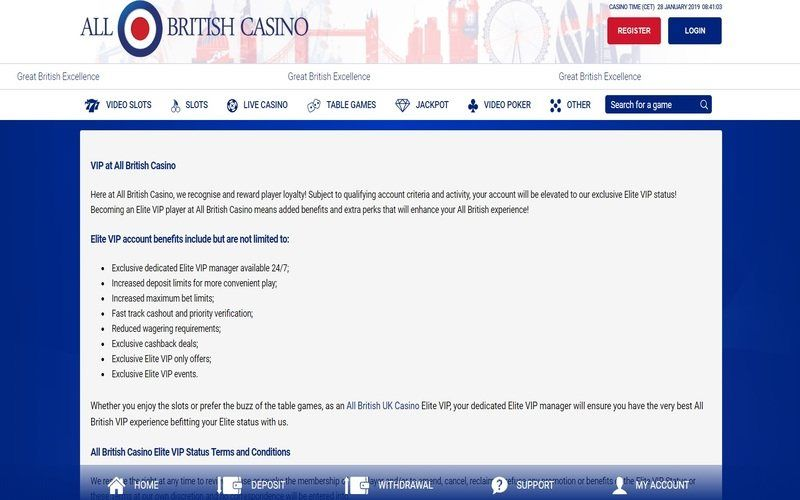 ▷ Play at All British Online Casino