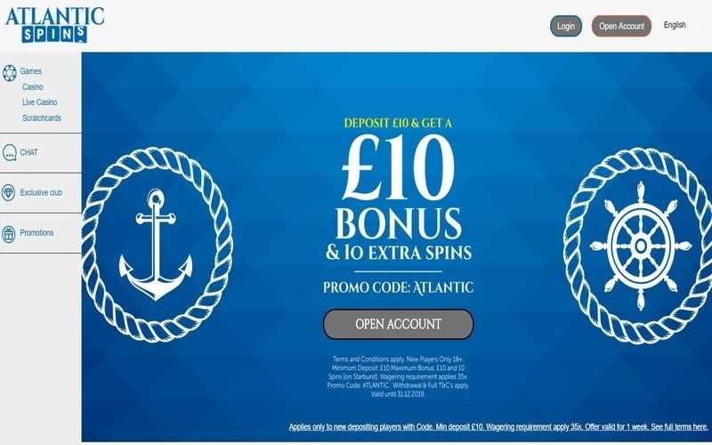 ▷ Play at Atlantic Spins Online Casino