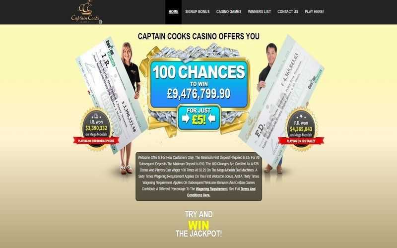 ▷ Play at Captain Cooks Online Casino