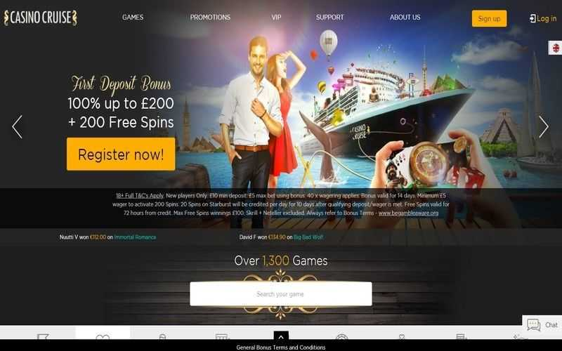 ▷ Play Now at Casino Cruise Online Casino!